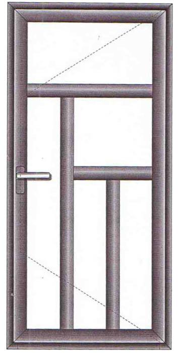 Modele Usi Termopan Exterior Duble Termopane Lugoj